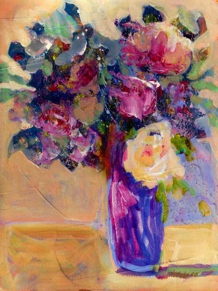 """Golden Days 13031  SOLD"" original fine art by Nancy Standlee"