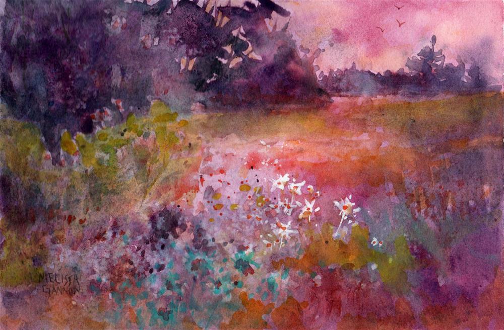 """Dreamtime"" original fine art by Melissa Gannon"