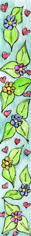 """Blooming Love"" original fine art by Kali Parsons"