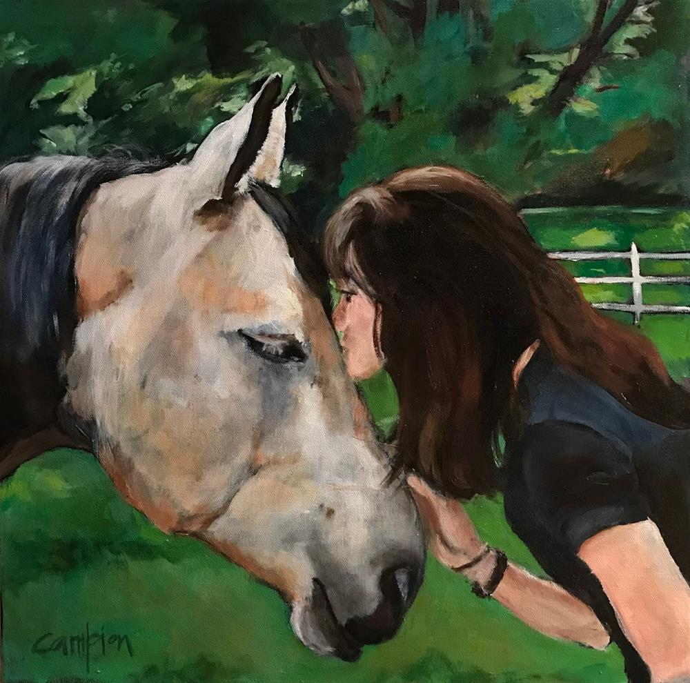 """910 A Love Like No Other"" original fine art by Diane Campion"