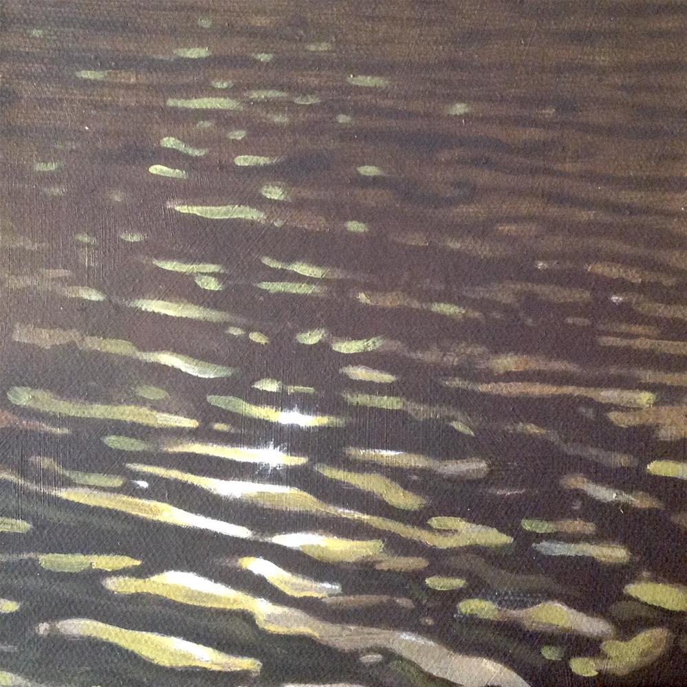 """Water Study 3"" original fine art by Stuart Graham"