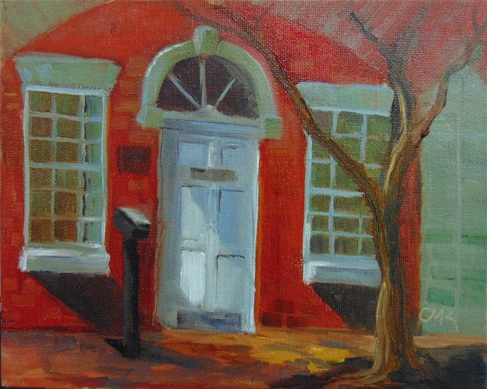 """Museum Entrance"" original fine art by Catherine Kauffman"