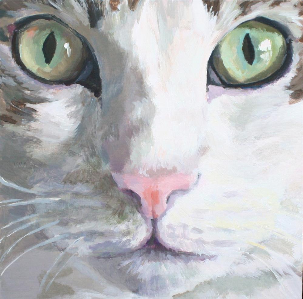 """The Close up"" original fine art by Kaethe Bealer"