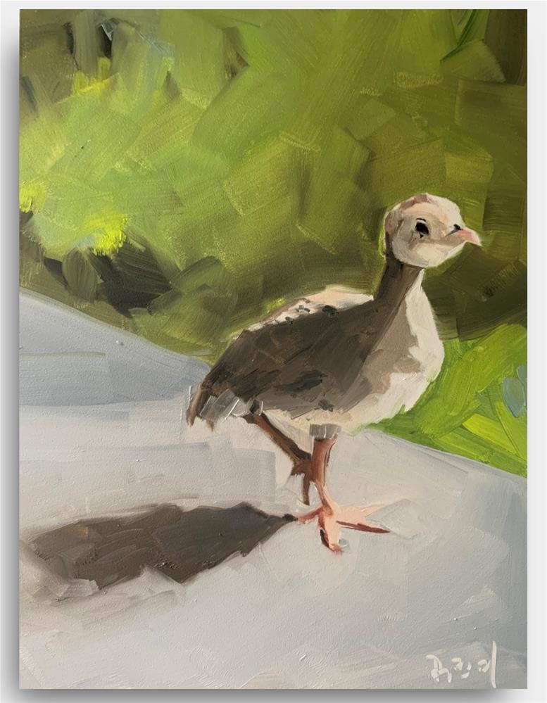 """""""855 Not All Birds Fly 2"""" original fine art by Jenny Doh"""