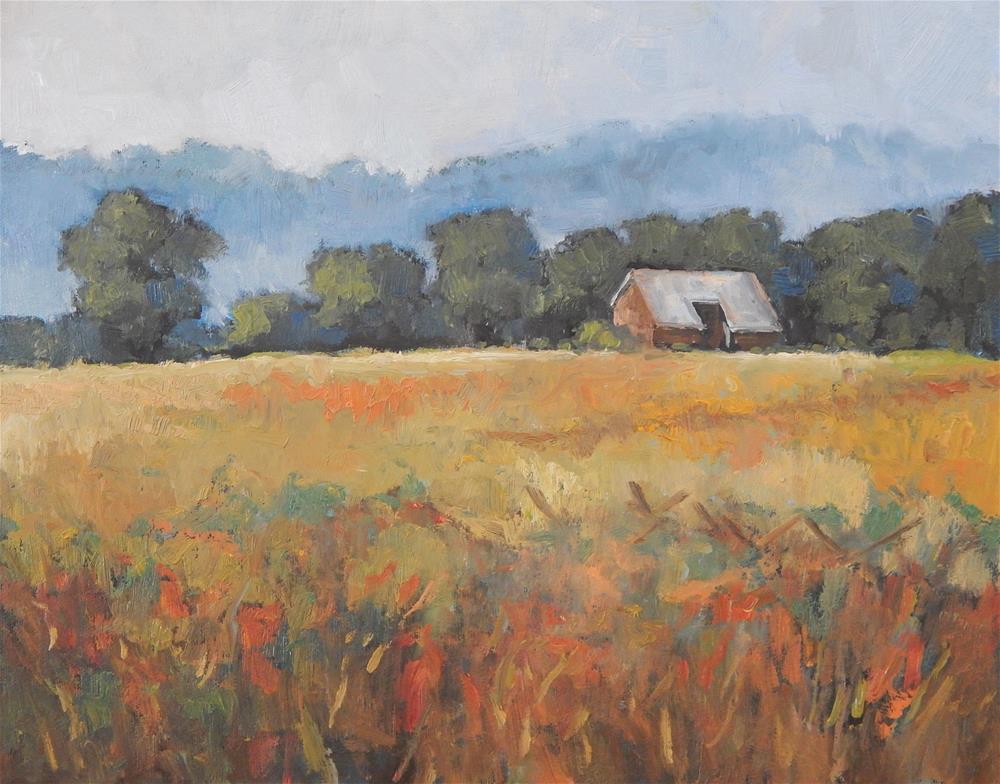 """Fog on the Battlefield"" original fine art by Lisa Kyle"