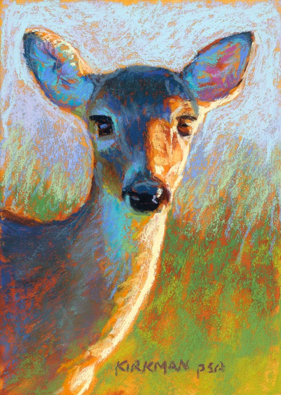 """Daisy"" original fine art by Rita Kirkman"
