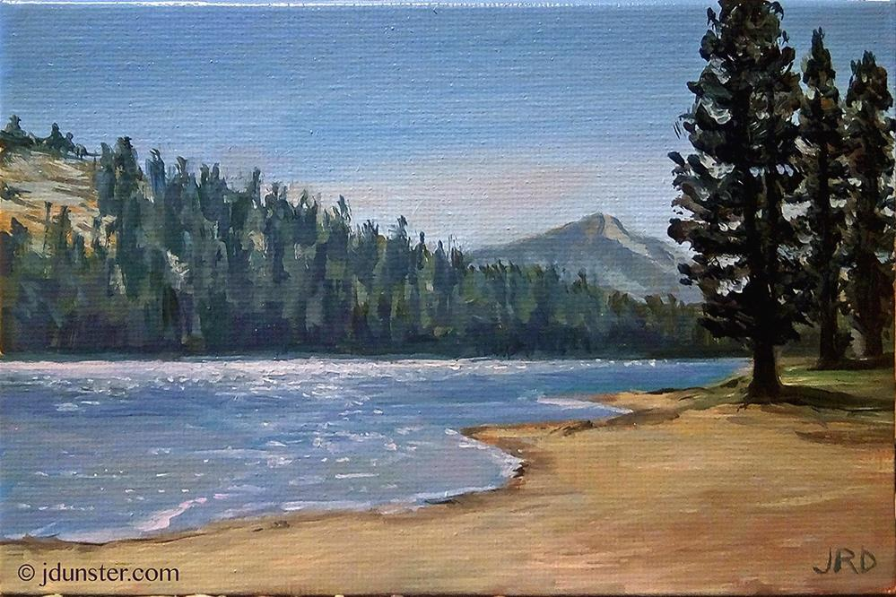 """""""Tenaya Lake"""" original fine art by J. Dunster"""