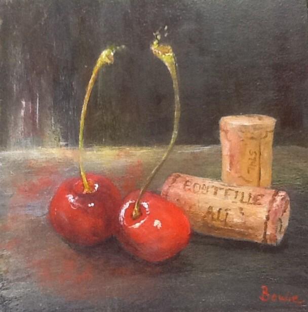 """Infusion"" original fine art by Maureen Bowie"