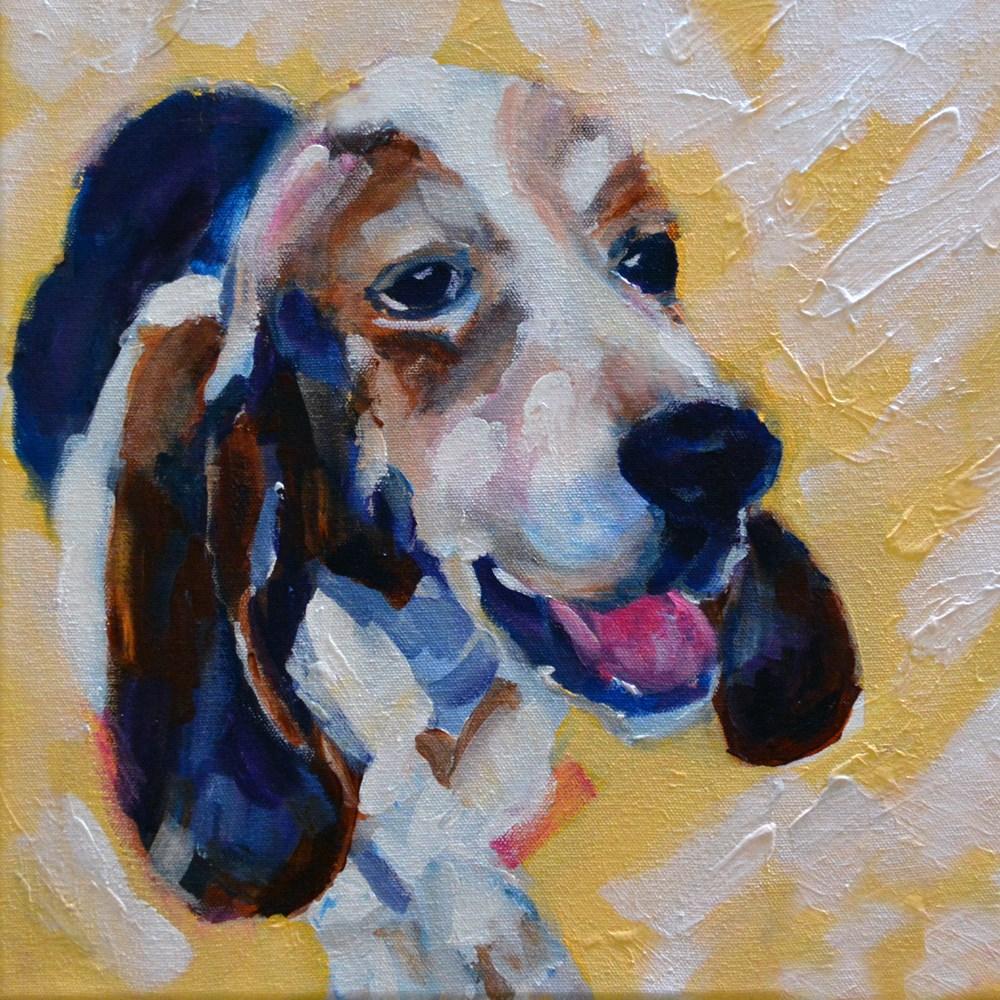 """""""Buster"""" original fine art by Pamela Gatens"""