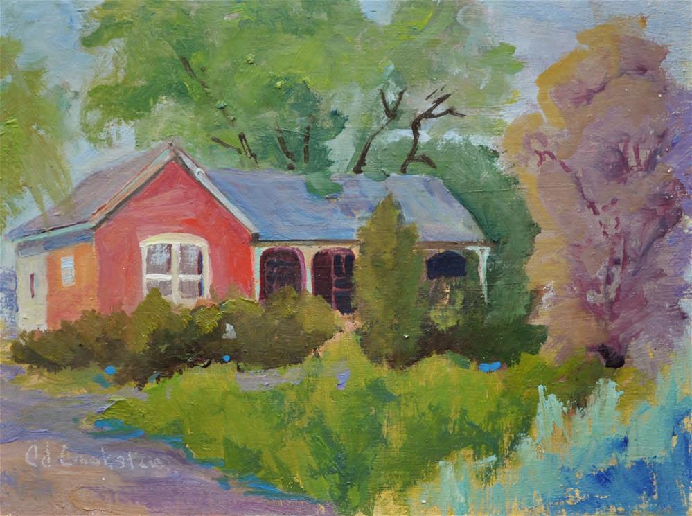 """The Mills Home"" original fine art by Catherine Crookston"