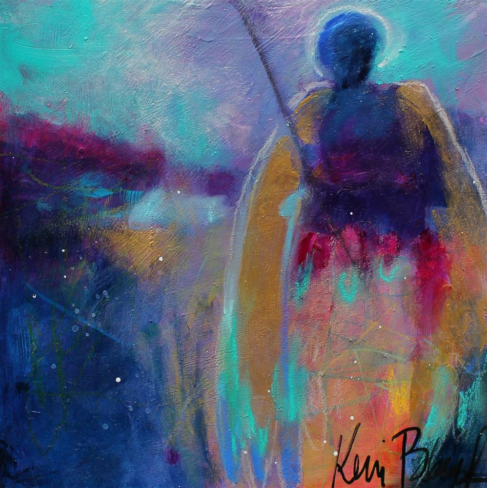 """The Wilds Need Angels Too"" original fine art by Kerri Blackman"