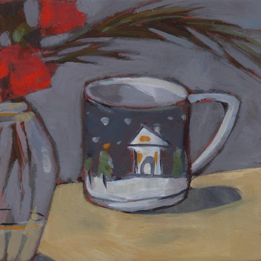 """0283: Home for Christmas"" original fine art by Brian Miller"