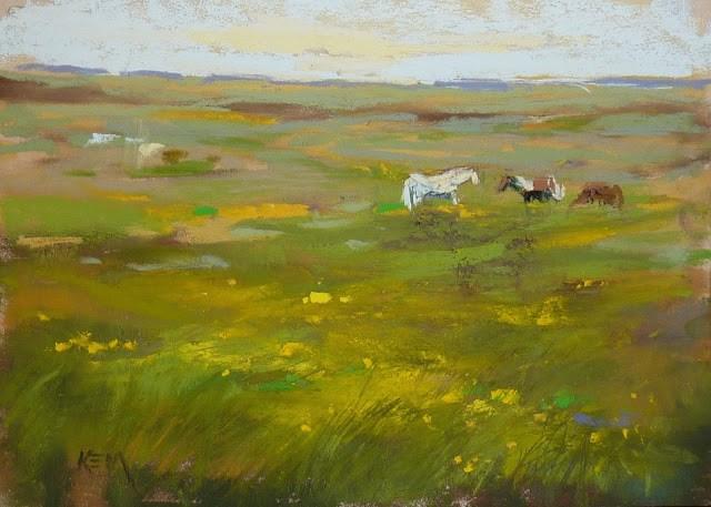 """""""Pastel Supplies 101: Support Boards"""" original fine art by Karen Margulis"""
