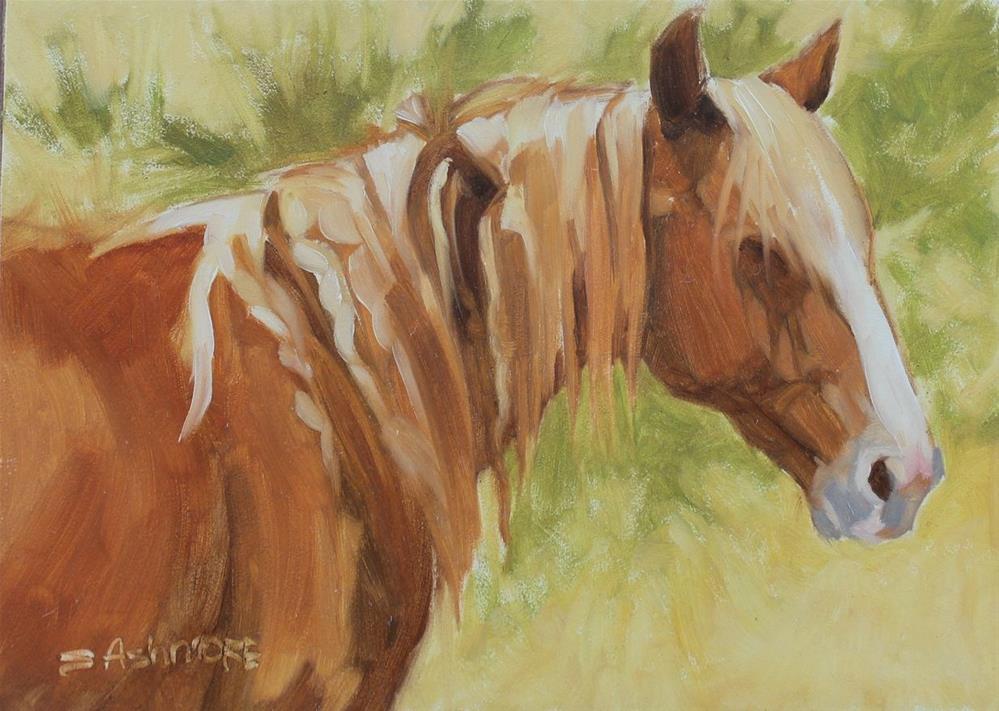 """""""Knots"""" original fine art by Susan Ashmore"""