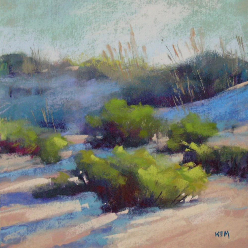 """Morning Dunes"" original fine art by Karen Margulis"