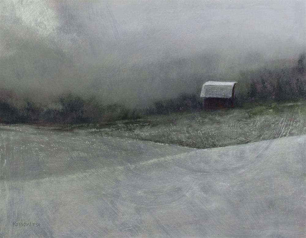 """Clearing III"" original fine art by Cristine Kossow"