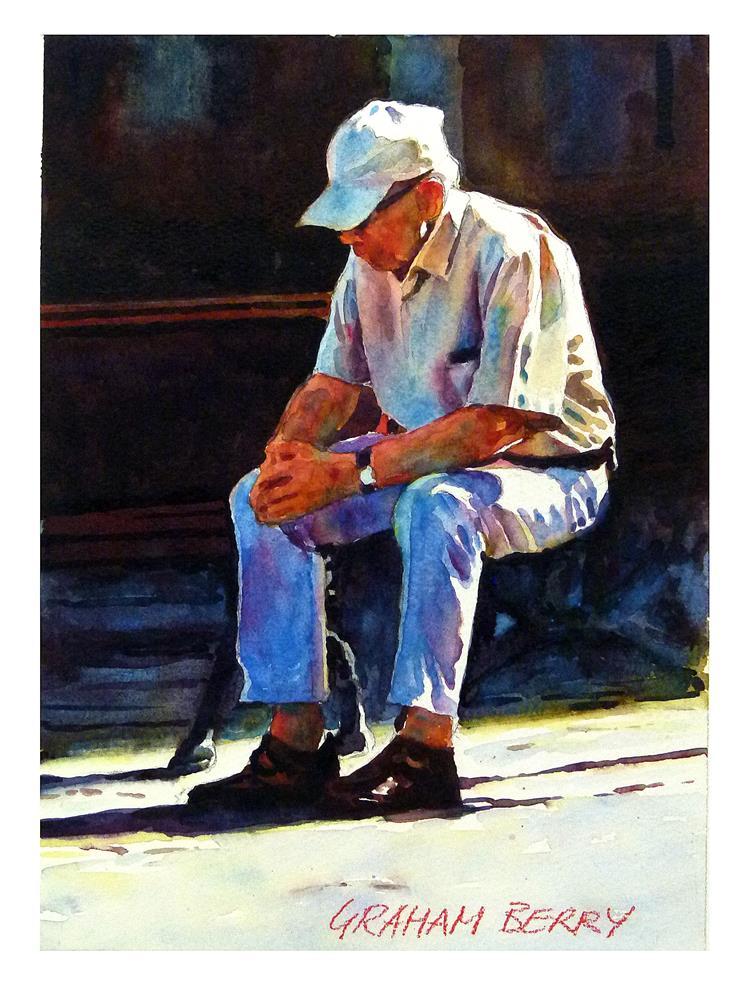 """Taking five."" original fine art by Graham Berry"
