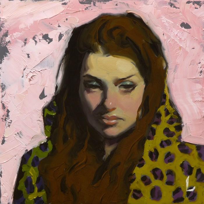 """Blush"" original fine art by John Larriva"