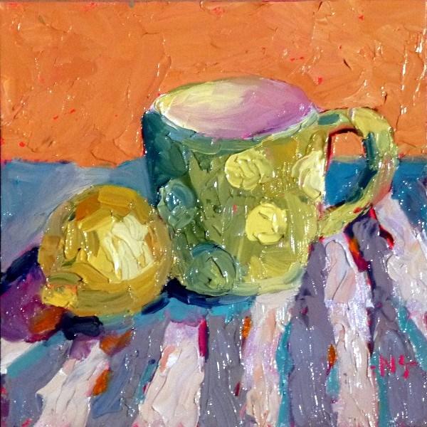 """""""Coffee or Tea 13008"""" original fine art by Nancy Standlee"""