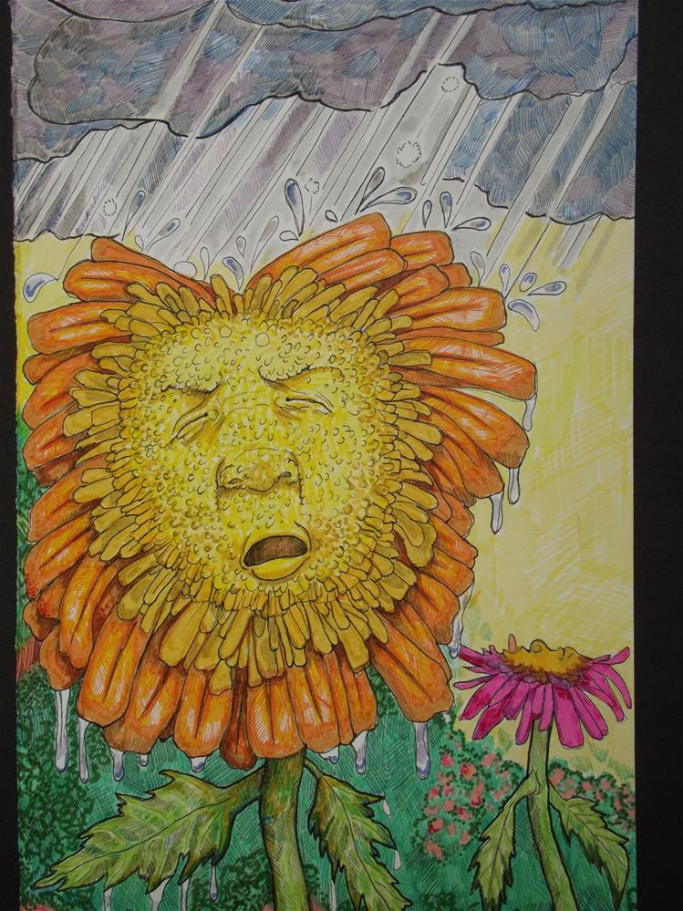 """Spring"" original fine art by wanda sigafus"