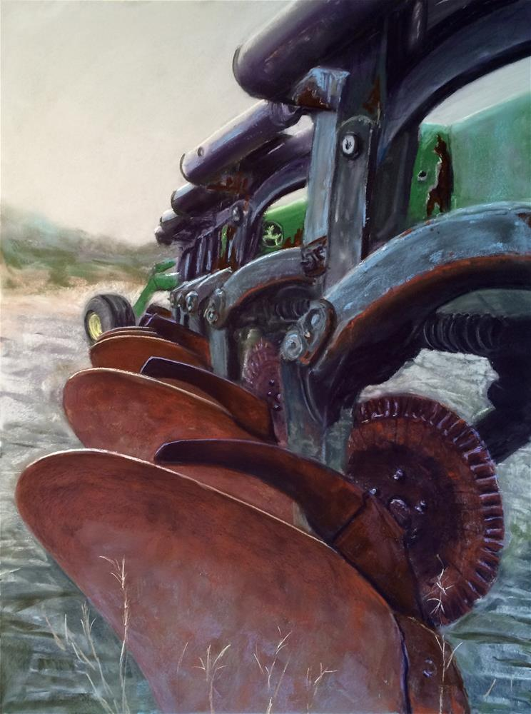 """Harvest"" original fine art by Cristine Kossow"