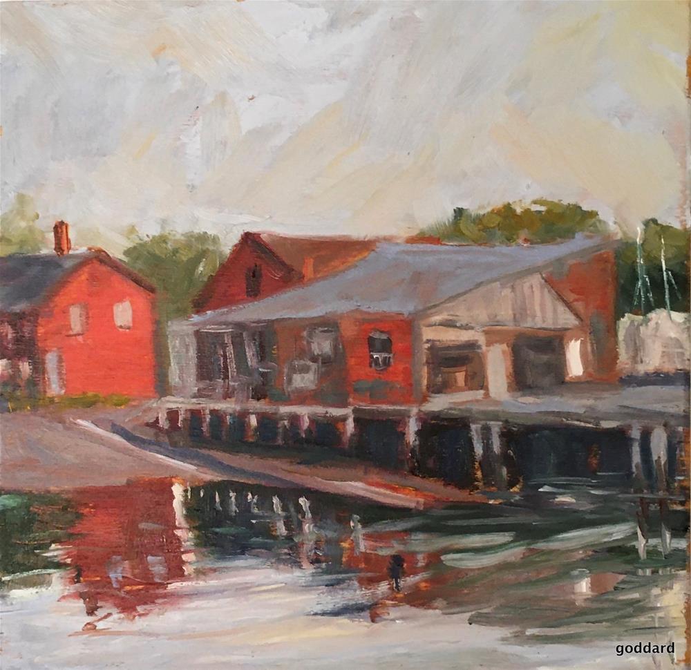 """Seaworthy"" original fine art by Shari Goddard Shambaugh"