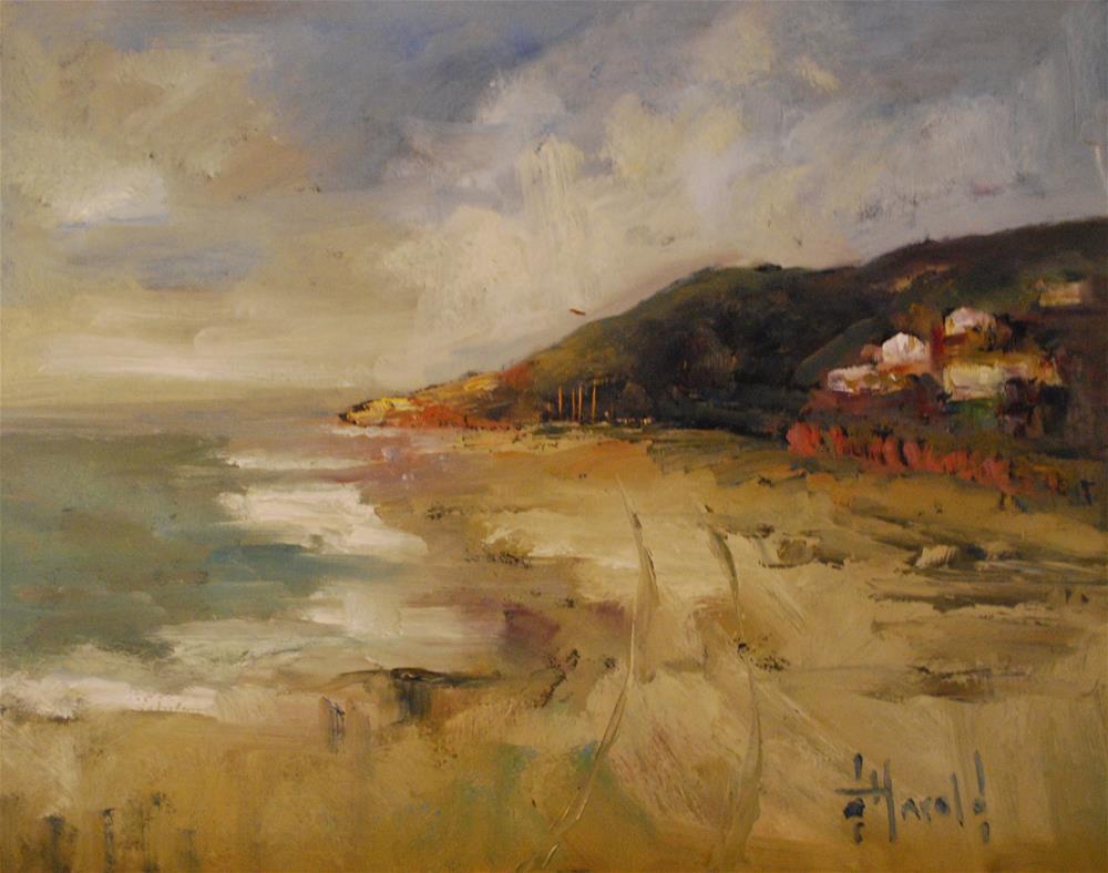 """Crystal Cove AM"" original fine art by Deborah Harold"