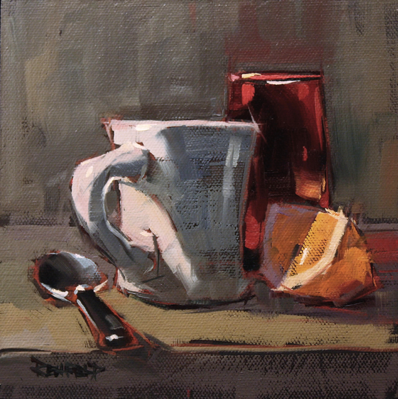 """Fresh Squeezed"" original fine art by Cathleen Rehfeld"