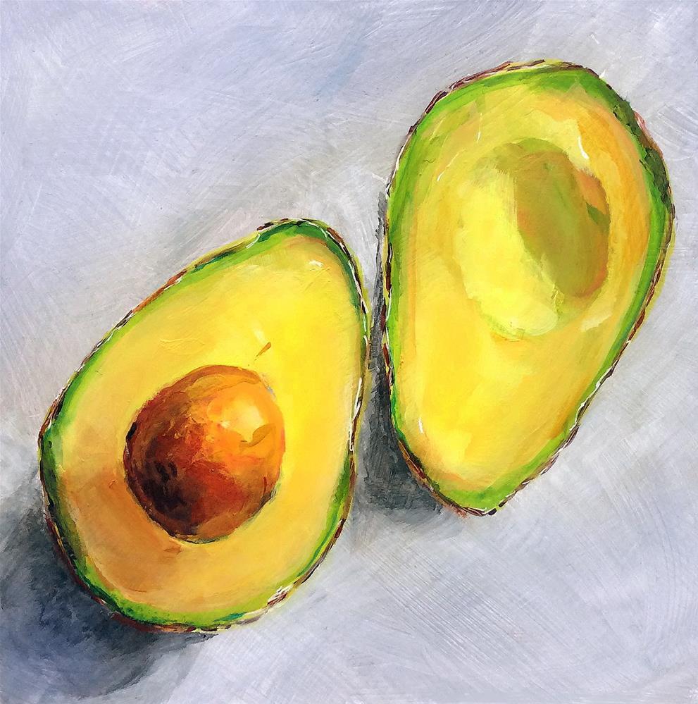 """""""Sunny Avocado!"""" original fine art by Sunny Avocado"""
