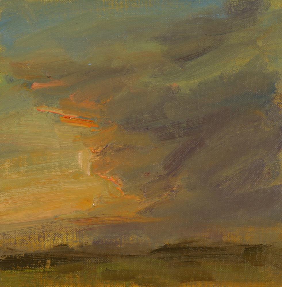 """Summer Sunrise 19"" original fine art by Scott Serafica"