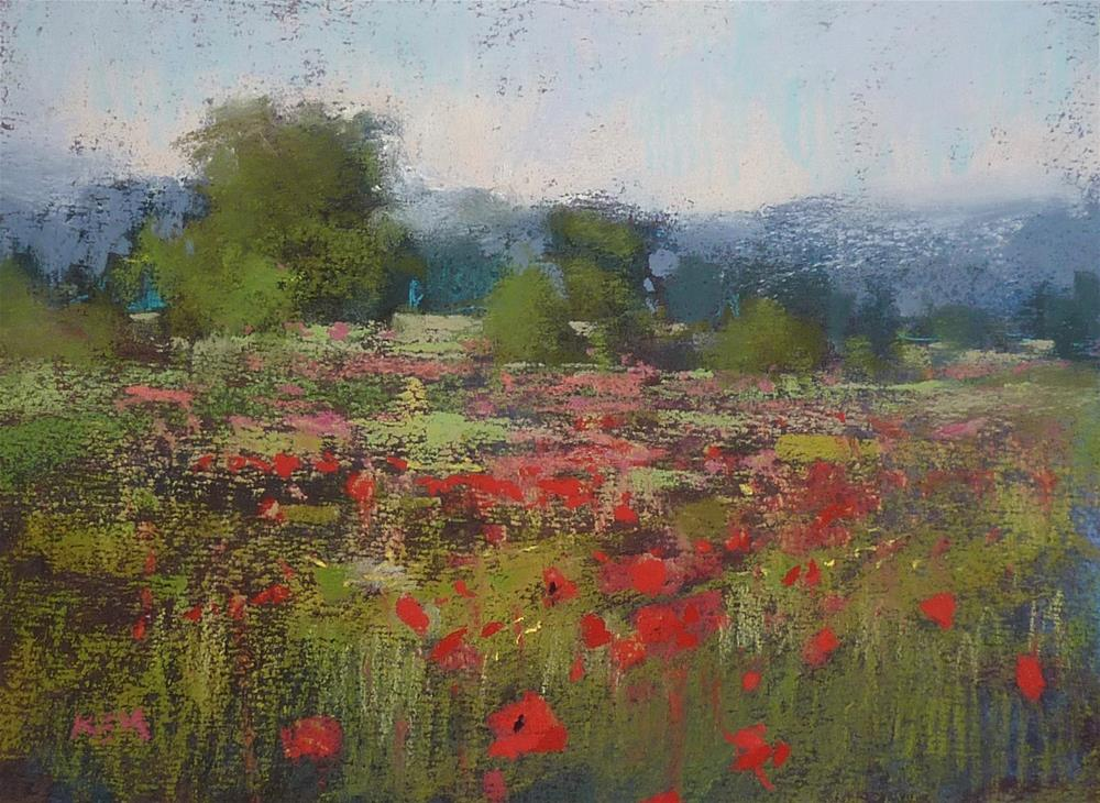 """""""Video Demo: How to Paint More Vibrant Reds!"""" original fine art by Karen Margulis"""