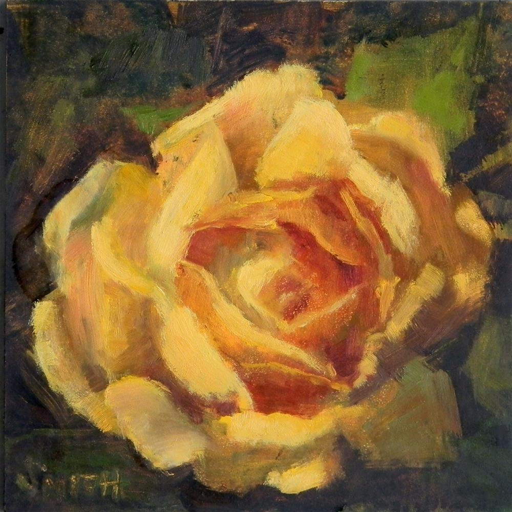 """Make Mine Yellow"" original fine art by Barbie Smith"