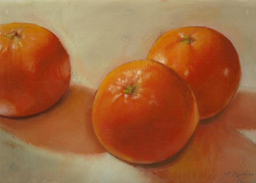 """Oranges"" original fine art by Stuart Graham"
