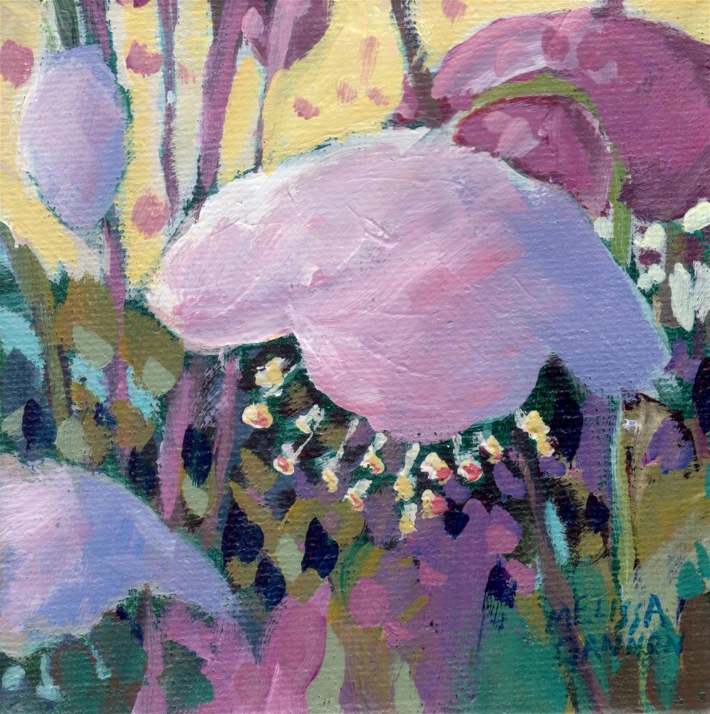 """Magical Bloom"" original fine art by Melissa Gannon"
