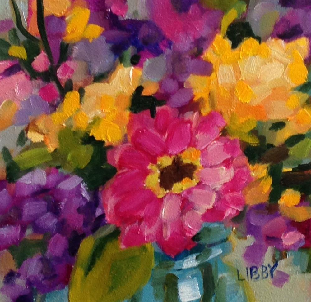"""""""Fascination"""" original fine art by Libby Anderson"""