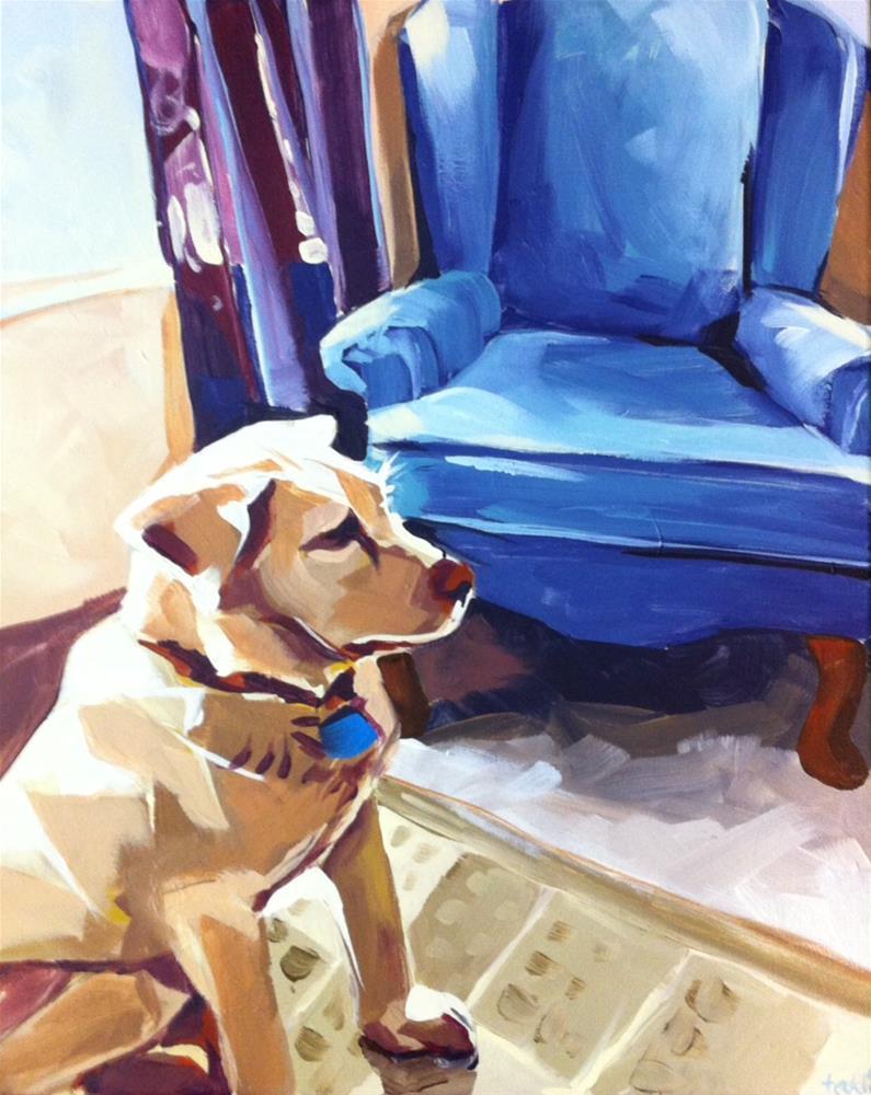 """My Spot"" original fine art by Teddi Parker"