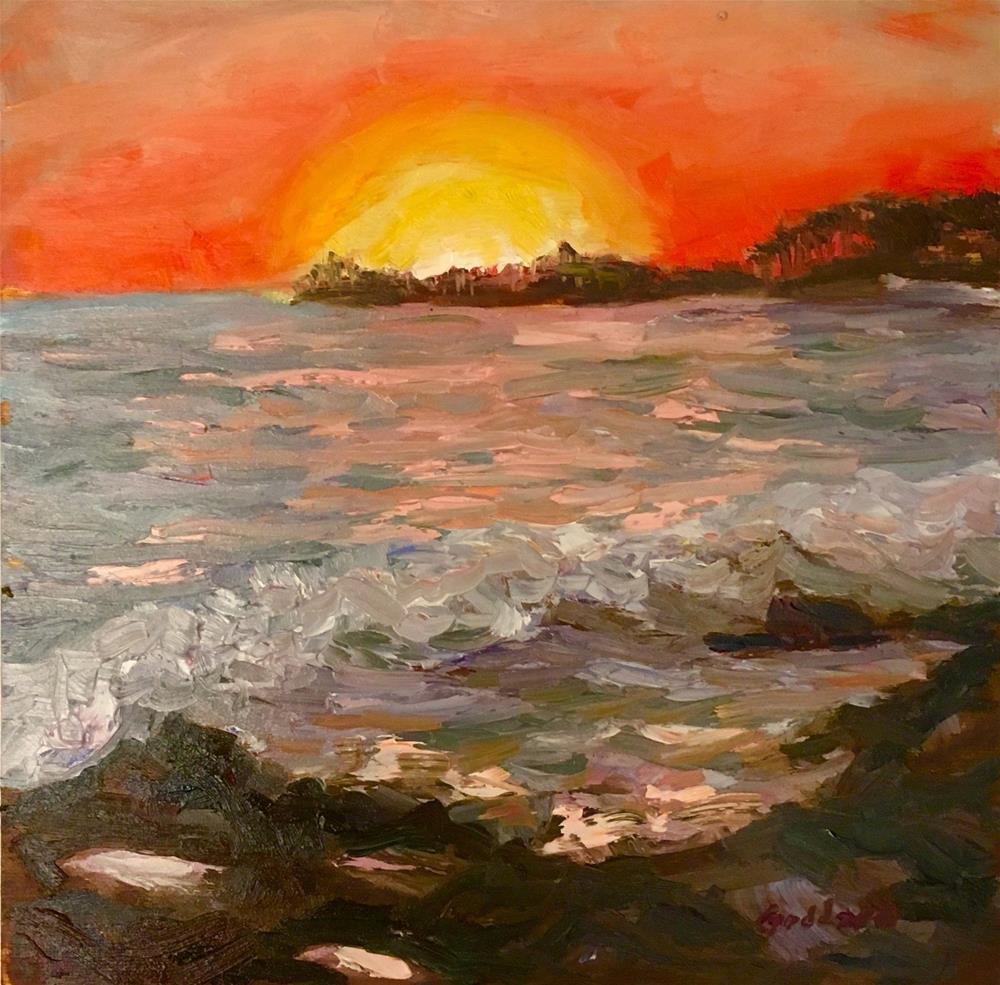 """Dragon's Eye"" original fine art by Shari Goddard Shambaugh"
