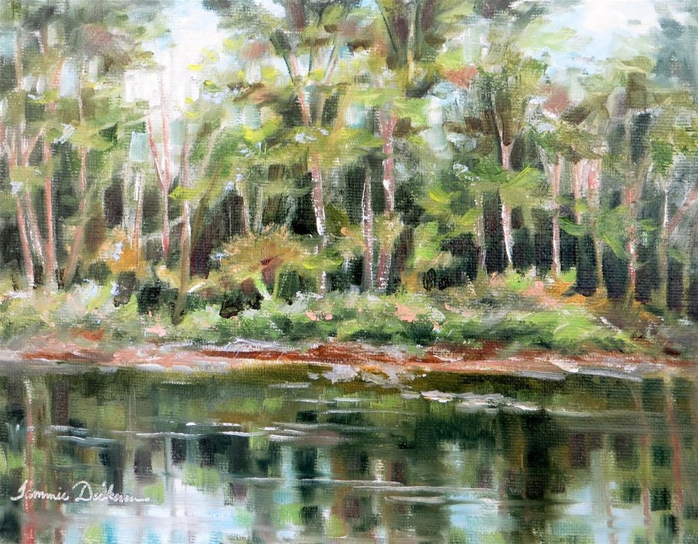 """Reflections on the Portage"" original fine art by Tammie Dickerson"