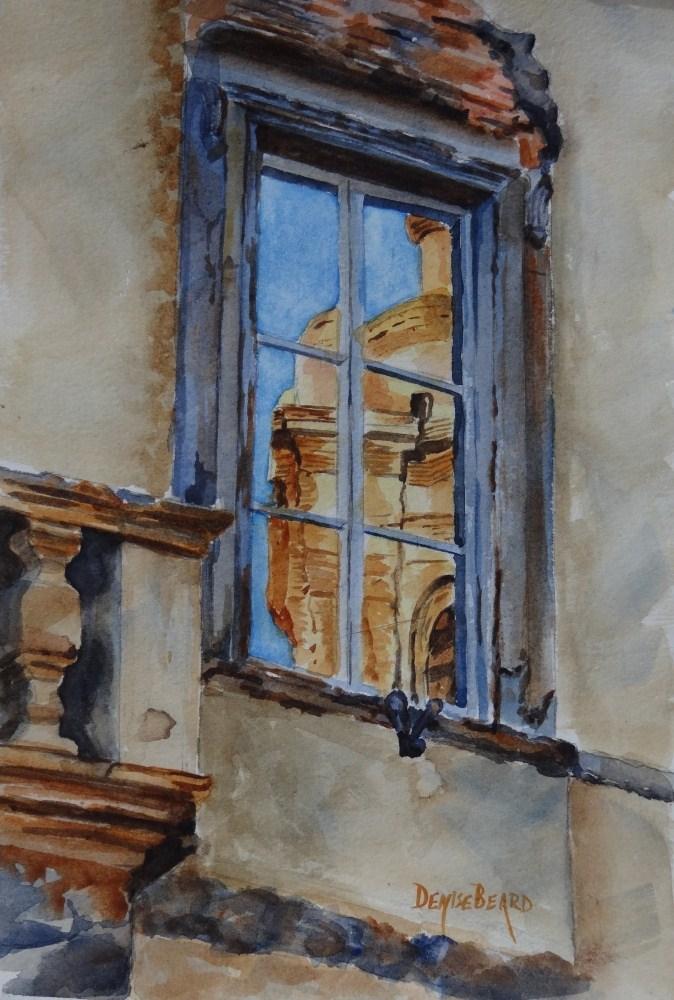 """Reflections in Italy"" original fine art by Denise Beard"