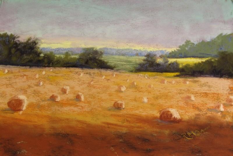 """Harvest Home"" original fine art by Ruth Mann"