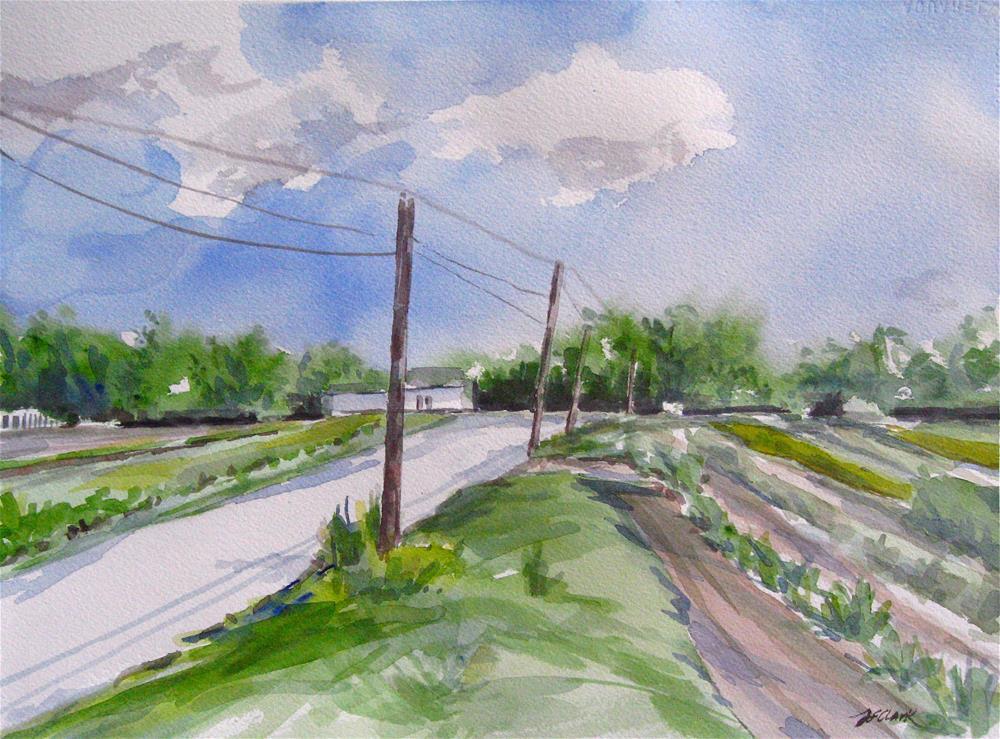 """First Day of Summer"" original fine art by Judith Freeman Clark"