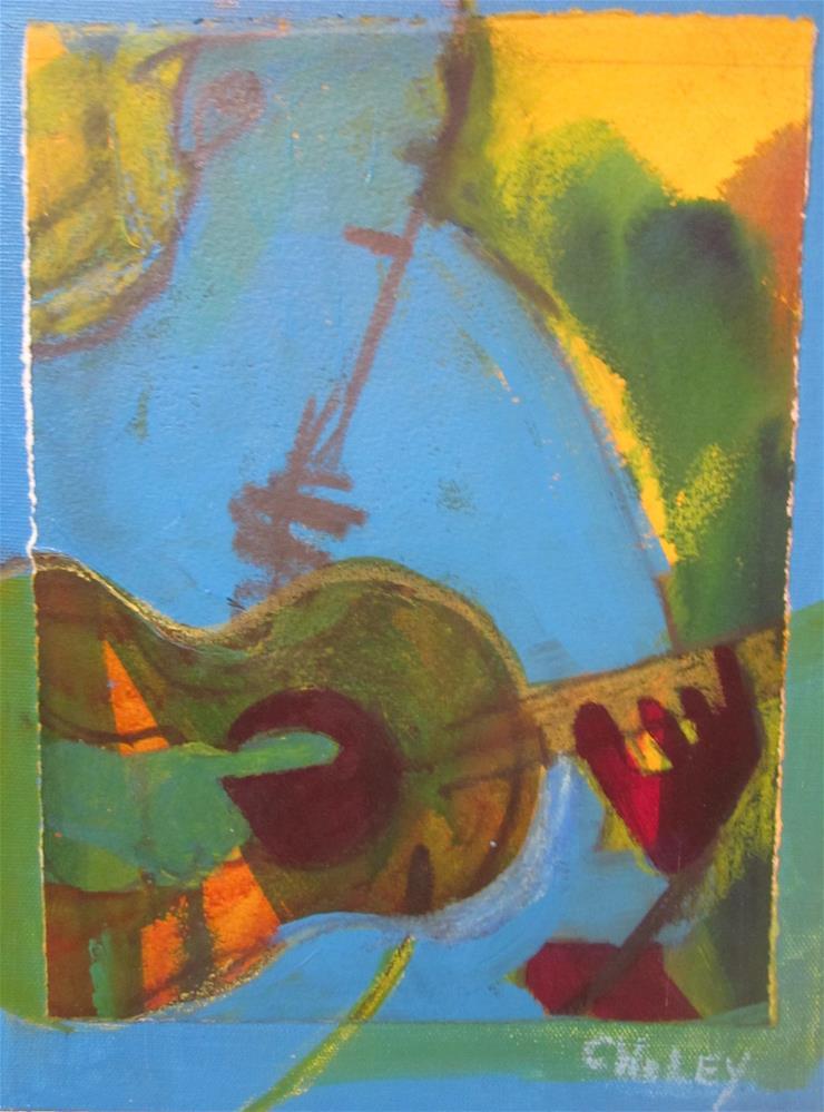 """Skip to my Lou"" original fine art by Carol Wiley"