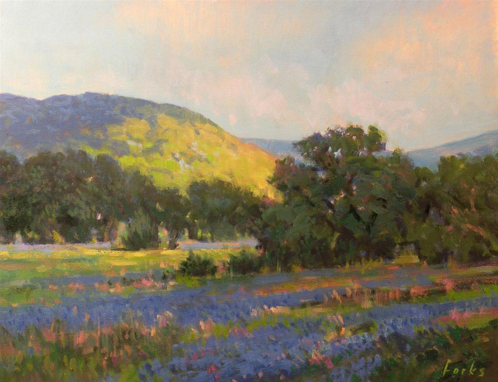 """Mornings Veil"" original fine art by David Forks"