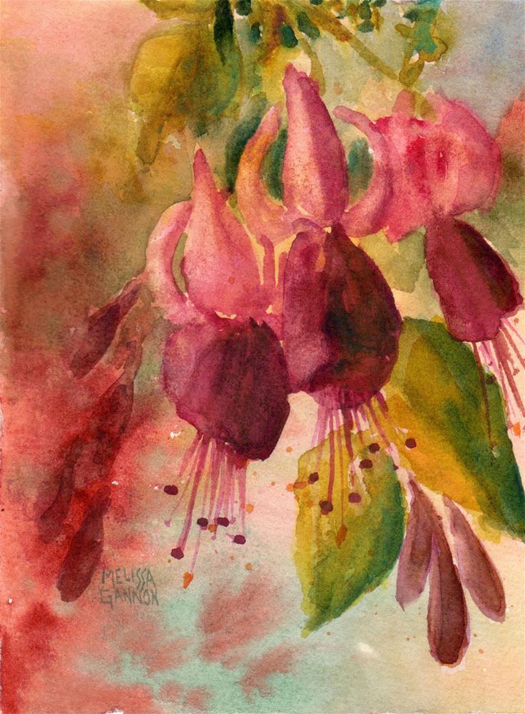 """""""Afternoon Glow"""" original fine art by Melissa Gannon"""
