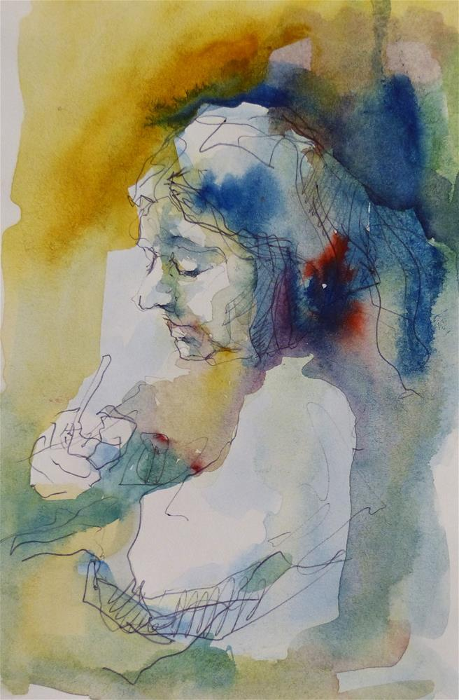 """sketchbook19"" original fine art by Katya Minkina"