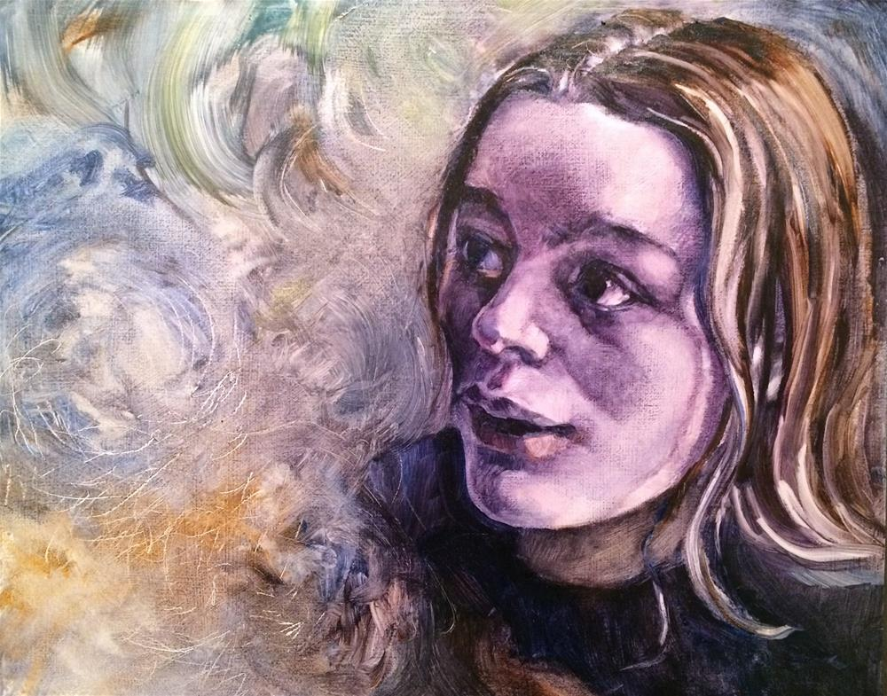 """Faces:  Magic"" original fine art by Nicoletta Baumeister"