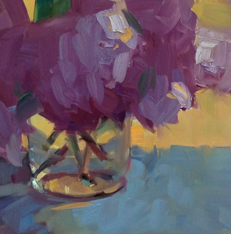 """""""Purple Passion"""" original fine art by Patti McNutt"""