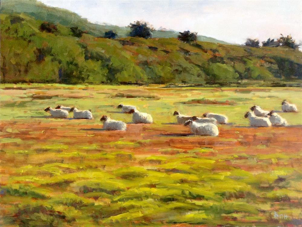 """Mission Ranch Afternoon"" original fine art by Barbie Smith"