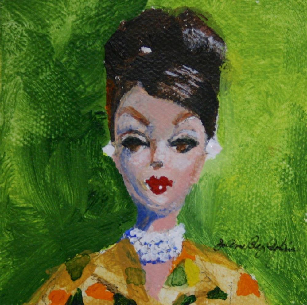 """Babs"" original fine art by JoAnne Perez Robinson"