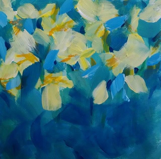 """Aprils Fools"" original fine art by Kathy Fleming"